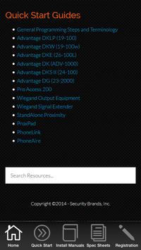 Security Brands Resources screenshot 1