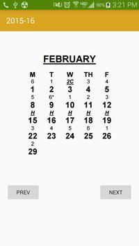 TN Rotational Schedule apk screenshot
