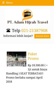 Adam Travel screenshot 1