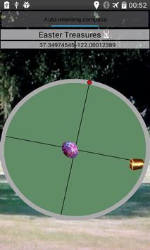 Easter egg Radar Treasure Hunt apk screenshot
