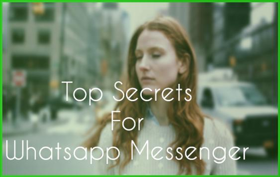 New WhatѕUp Messenger Chat Tipѕ poster