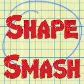 Shape Smash - Black & White icon