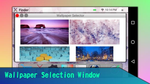 OS Style Max X Launcher/Theme PC screenshot 4
