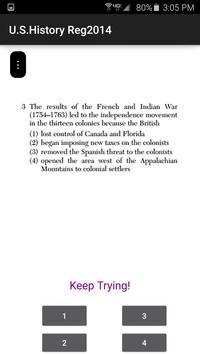 U.S. History Regents screenshot 8