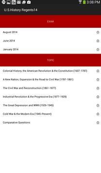 U.S. History Regents screenshot 2