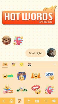 Cool hot words emoji sticker screenshot 2