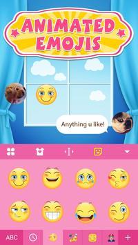 Animated Emoji & Cute Emoji Keyboard for iPhone X poster