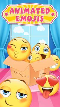 Animated Emoji & Cute Emoji Keyboard for iPhone X screenshot 1