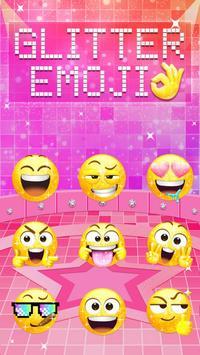 Glitter Emoji Sticker for Messenger apk screenshot