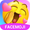 Funny Emoji Stickers&Cool,Cute Emojis for Android أيقونة