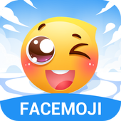 Funny Drop Emoji Sticker иконка