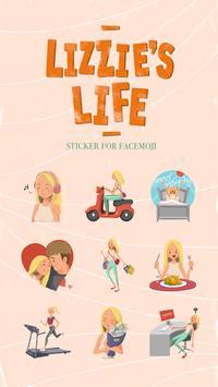 Lizzie's Life Sticker screenshot 1