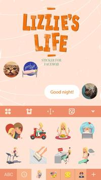 Lizzie's Life Sticker screenshot 2