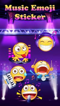 Music Emoji Sticker for Snapchat poster