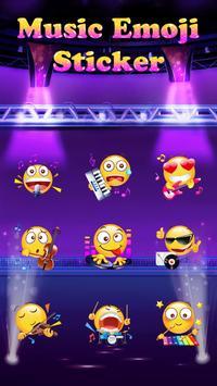 Music Emoji Sticker for Snapchat apk screenshot
