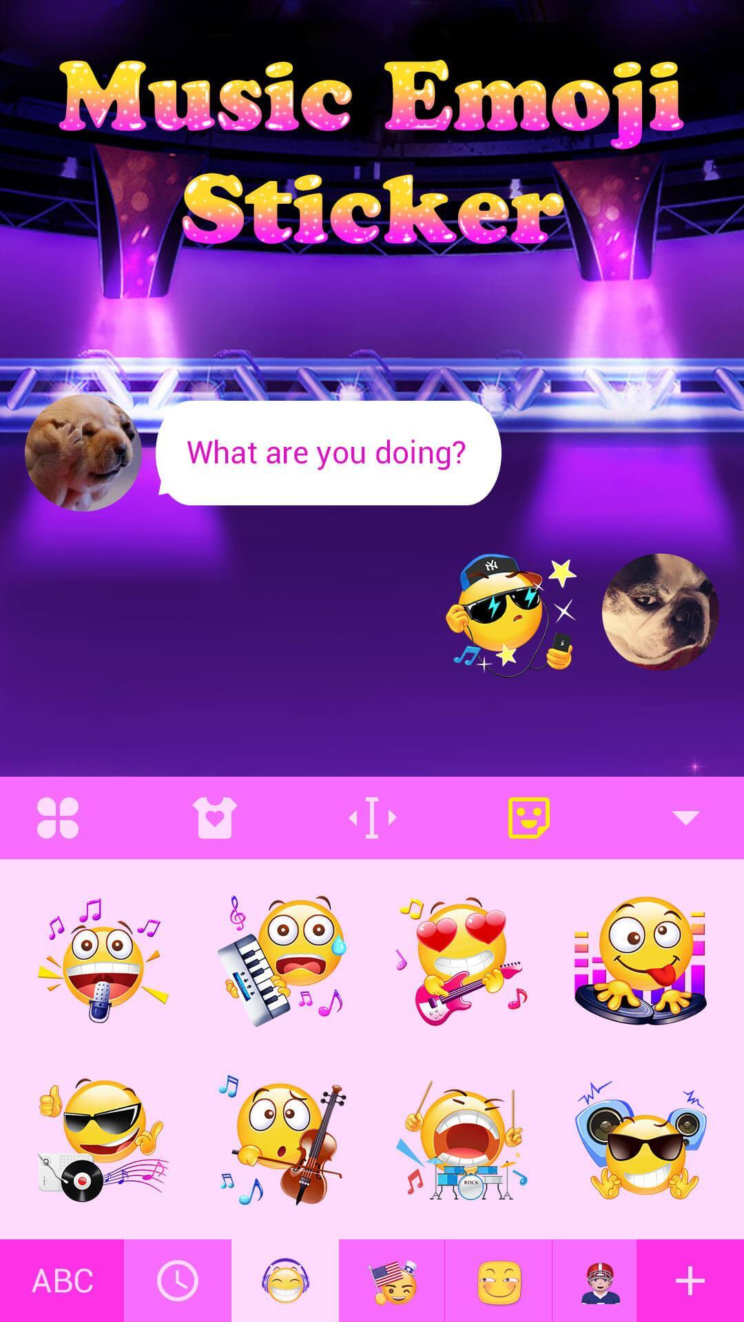 Music Emoji Sticker for Snapchat for Android - APK Download