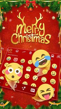 Merry Christmas & Santa Claus New Year Keyboard screenshot 3