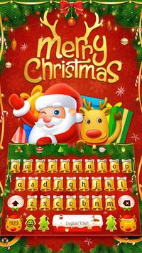Merry Christmas & Santa Claus New Year Keyboard screenshot 1