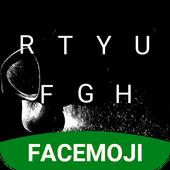 Military Dark Emoji Keyboard Theme for Instagram icon