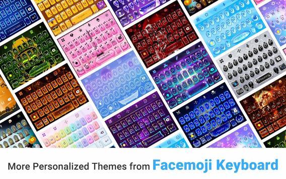 Neon Vampire Bat Hero Keyboard Theme for Android screenshot 4