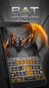 Neon Vampire Bat Hero Keyboard Theme for Android screenshot 3