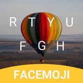 Colorful Balloon Keyboard Theme for Whatsapp icon