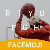 Basketball Hangouts Emoji Keyboard Theme for pof icon
