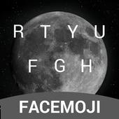Black Moon Keyboard Theme & Emoji Keyboard icon