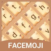 Cute Kitty Emoji Keyboard Theme for Facebook icon