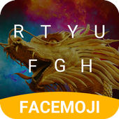 Fantasy Dragon Keyboard Theme for Facebook icon