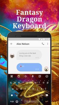 Fantasy Dragon Keyboard Theme for Facebook screenshot 3