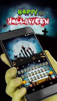 Halloween 2017 Keyboard Theme screenshot 1