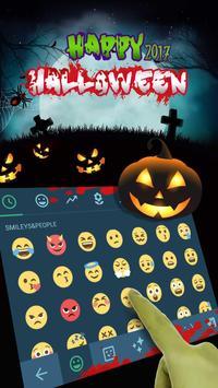 Halloween 2017 Keyboard Theme screenshot 2