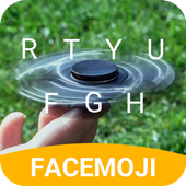 Hand Fidget Spinner Keyboard Theme for Hangouts icon