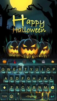 Happy Halloween Keyboard Theme poster