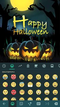 Happy Halloween Keyboard Theme screenshot 1