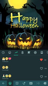 Happy Halloween Keyboard Theme screenshot 2