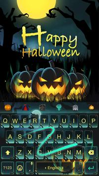 Happy Halloween Keyboard Theme screenshot 3
