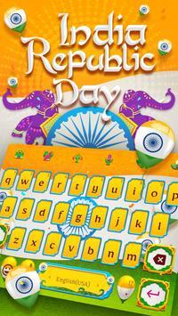 Happy India Republic Day Keyboard Theme screenshot 1