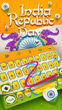 Happy India Republic Day Keyboard Theme screenshot 2
