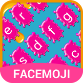 Jet Graffiti Emoji Keyboard Theme icon