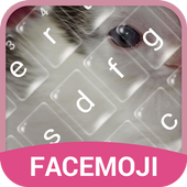 Lovely Kitten Bubble Keyboard Theme for Snapchat icon
