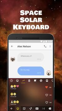 Space Solar Emoji Keyboard Theme for samsung apk screenshot