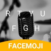 Microphone Emoji Keyboard Theme for LP icon