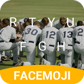 Baseball Team Pray Emoji Keyboard Theme for MLB icon