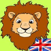 Kids Zoo,Animal Sounds & Photo icon