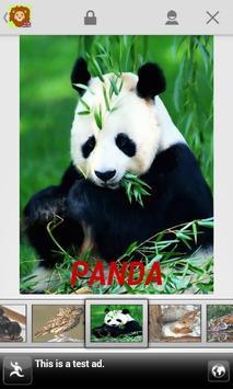 Kids Zoo,Animal Sounds & Photo apk screenshot