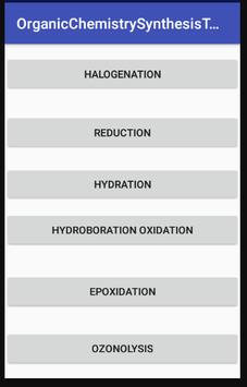 Organic Chemistry Synthesis Toolbox poster