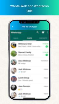 Whats Web for Whatscan 2018 screenshot 1