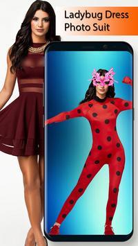 Ladybug Dress Photo Suit screenshot 1